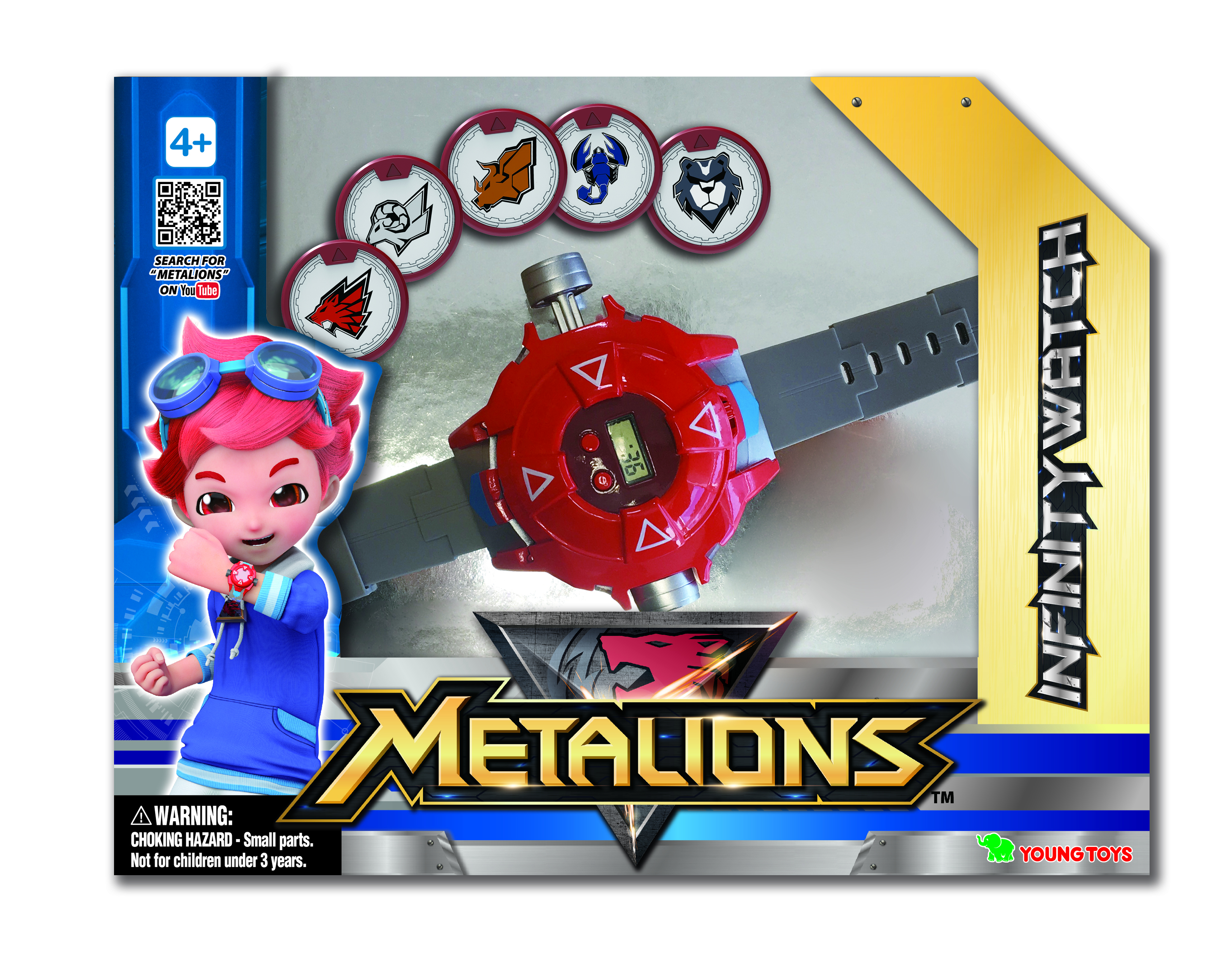 YOUNG TOYS METALIONS Infinity Watch