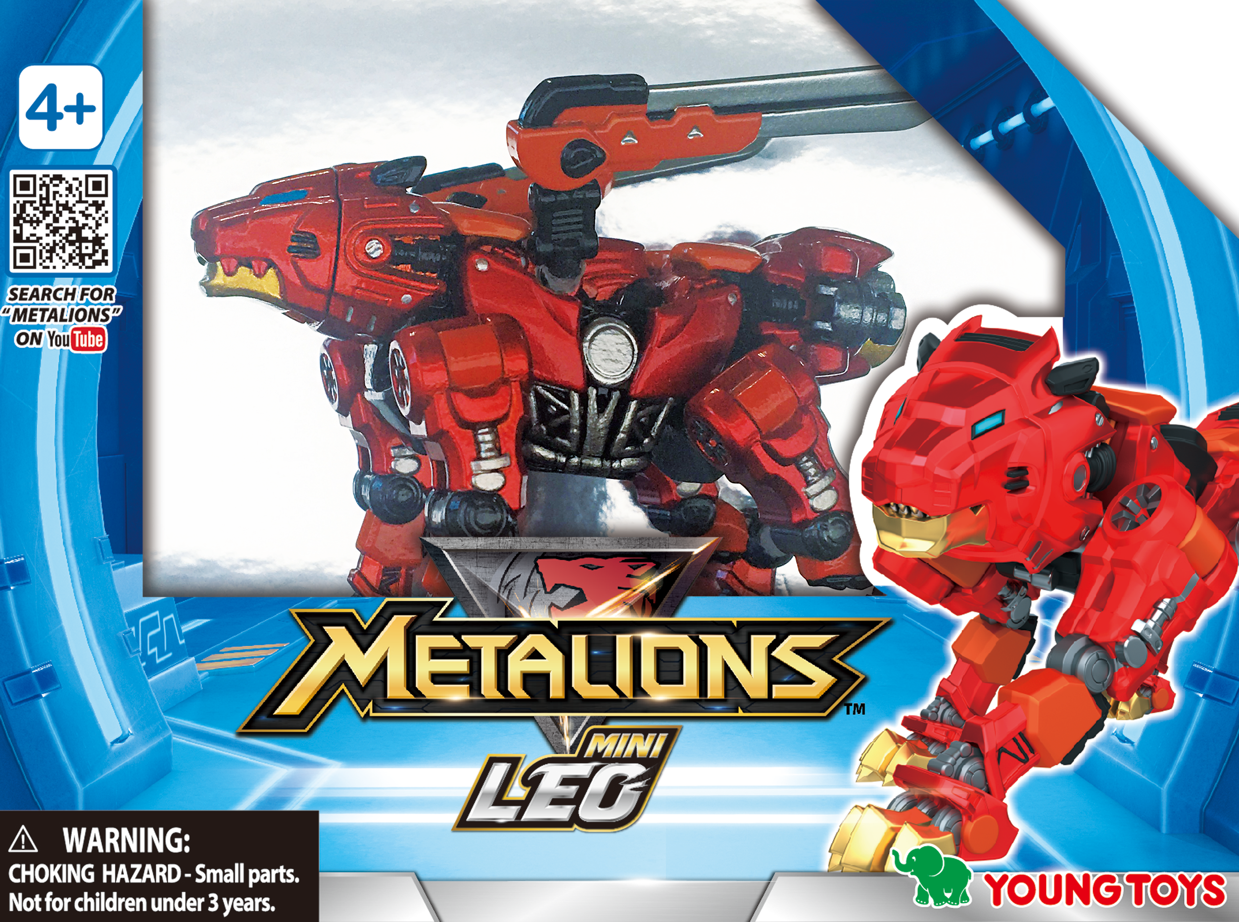 YOUNG TOYS METALIONS Mini Leo Action Figure