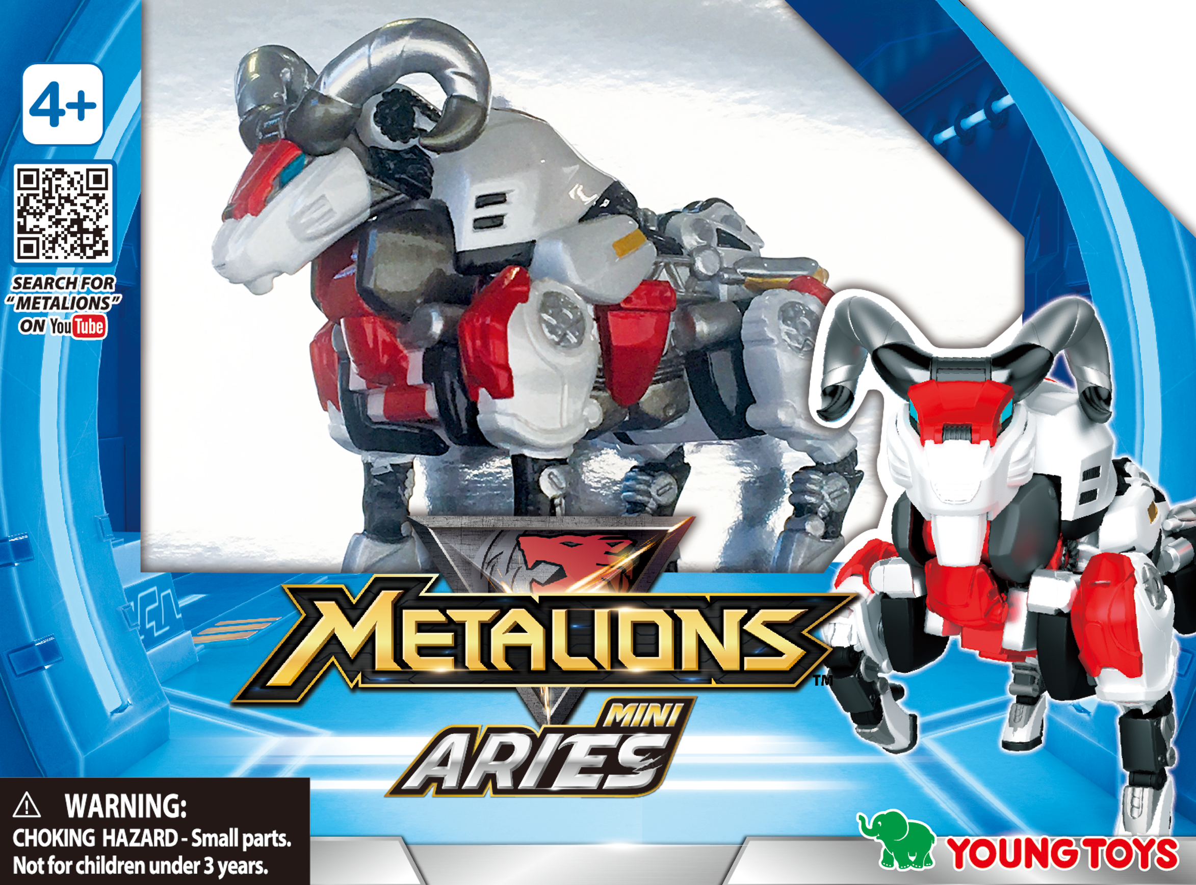 YOUNG TOYS METALIONS Mini Aries Action Figure