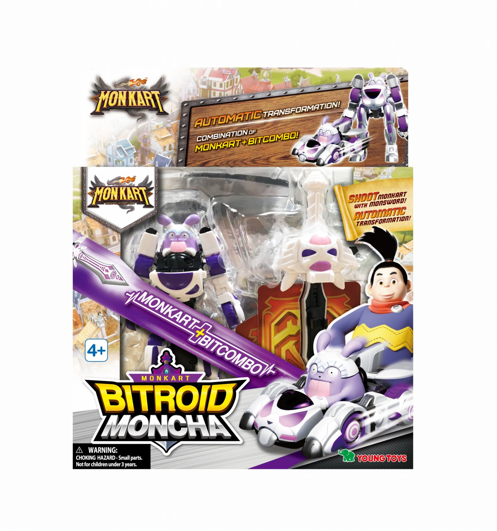 MONKART Bitroid Moncha