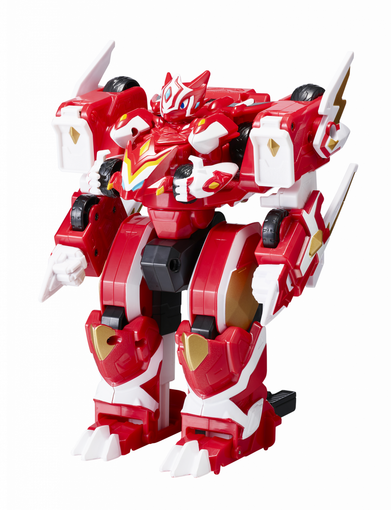 YOUNG TOYS MONKART Robot-Transformer Gigaroid Draburst-hahmo