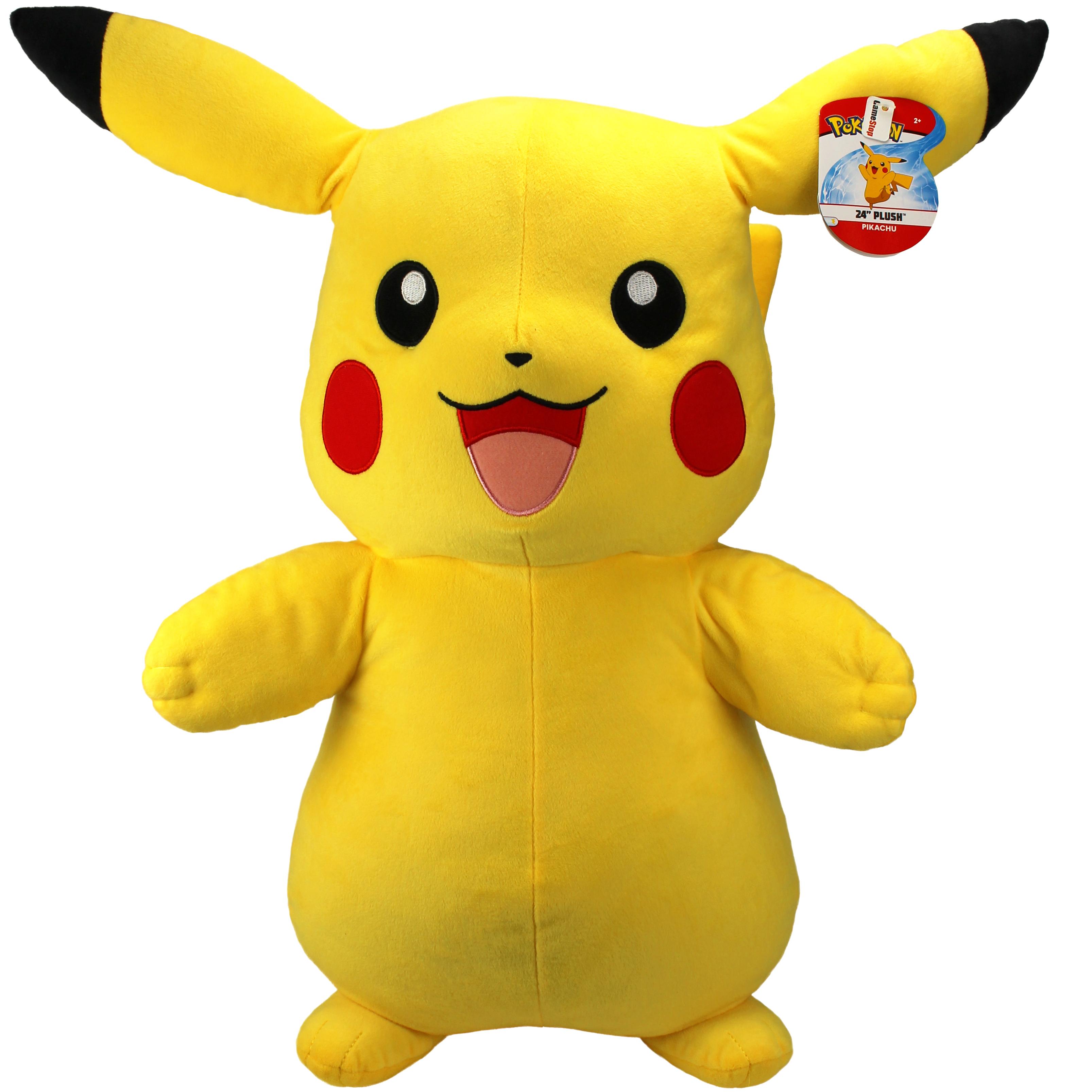JAZWARES POKEMON Pikachu Plush 60 cm