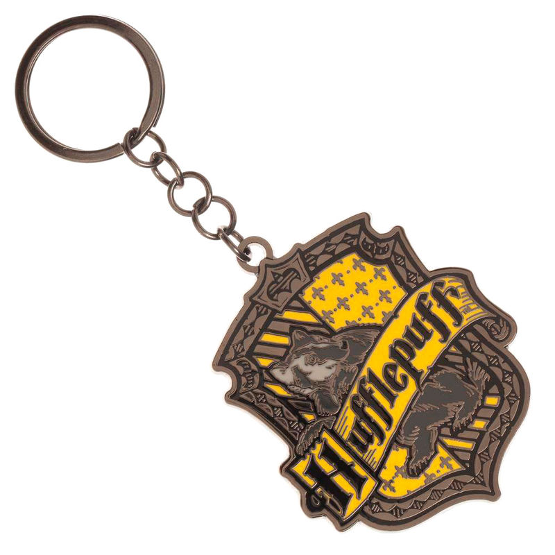 Harry Potter Hufflepuff key chain