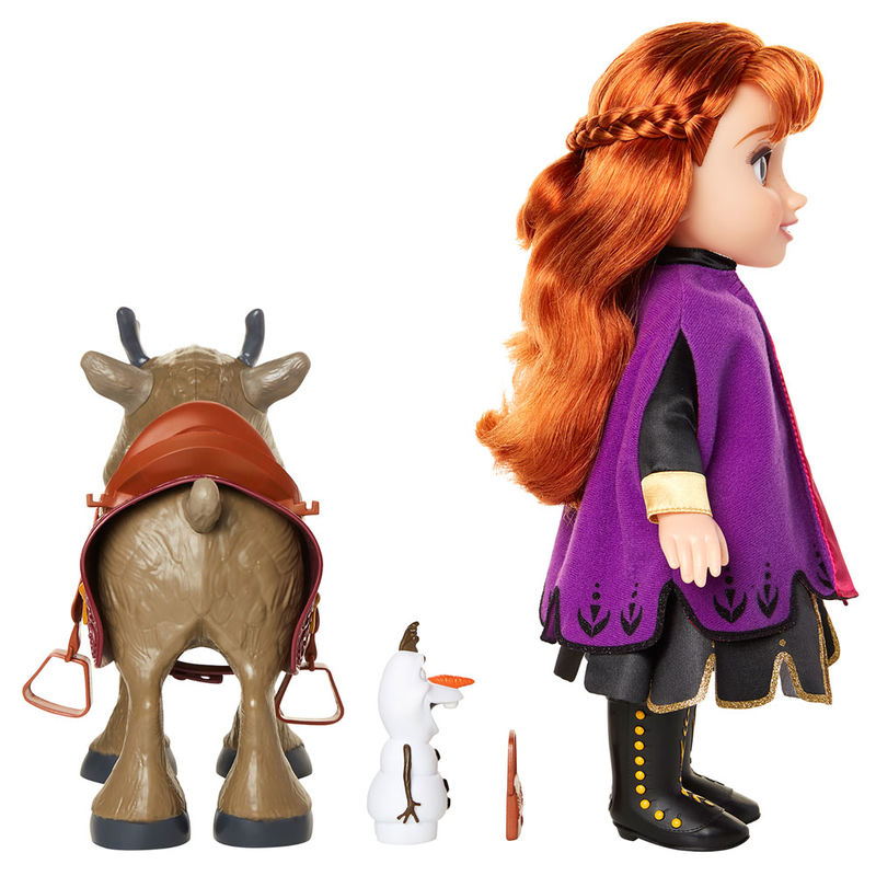 Disney Frozen 2 Anna & Sven & Olaf set dolls 35cm