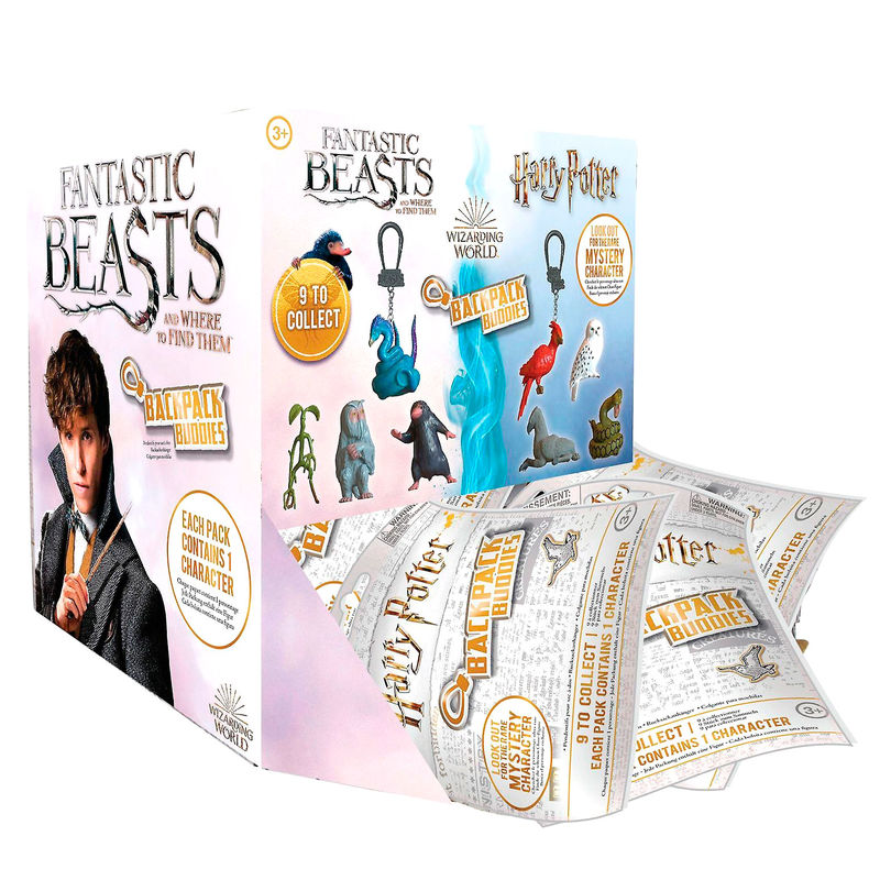 Harry Potter Fantastic Animals assorted Mistery Backpack Buddies