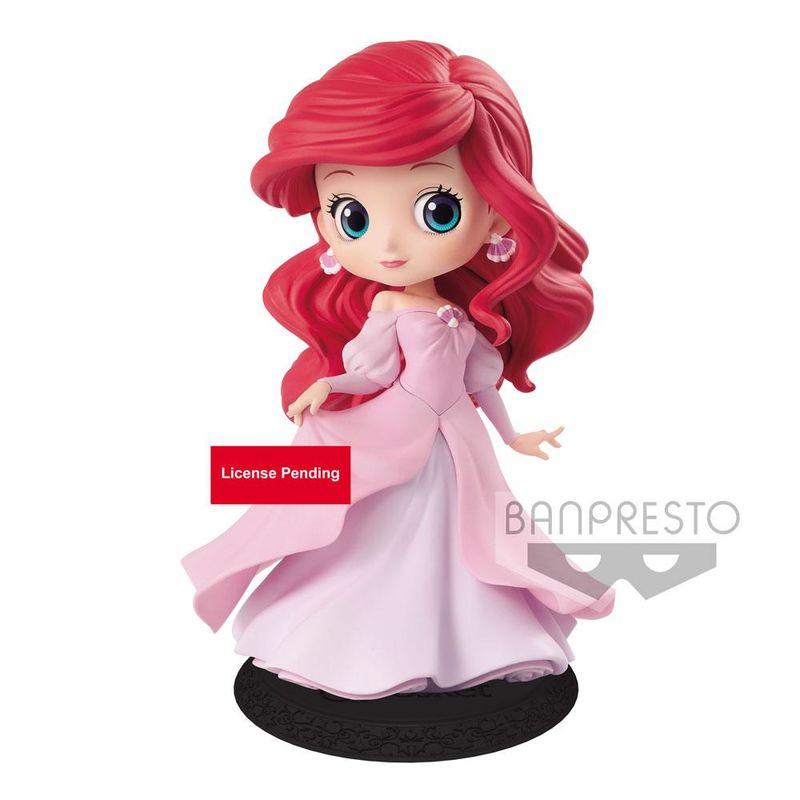 Disney Ariel Princess Dress Q Posket figure 14cm