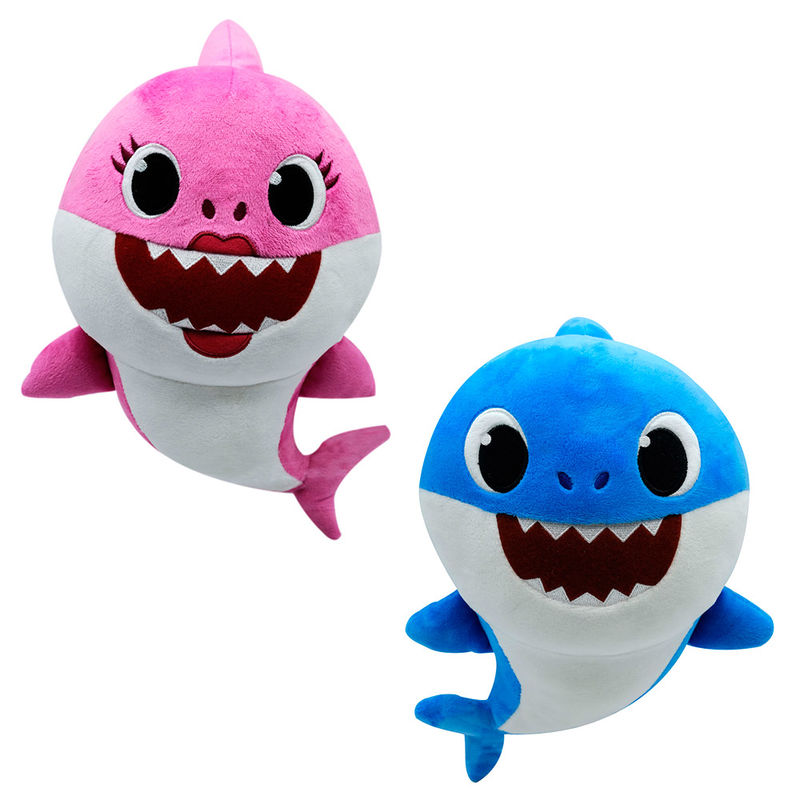 Baby Shark assorted musical plush toy 32cm