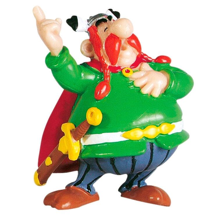 Asterix the Gallic Abraracurcix figure 6cm
