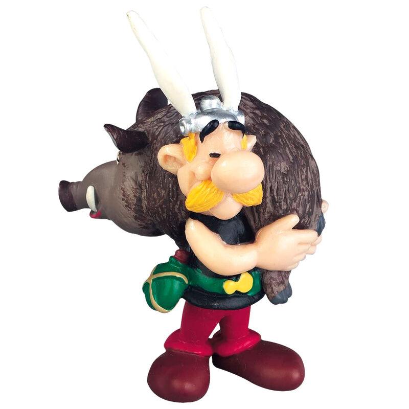 Asterix the Gallic Asterix with Boar figure 6cm