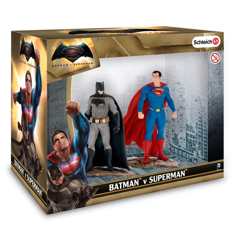 DC Comics Batman vs Superman figures
