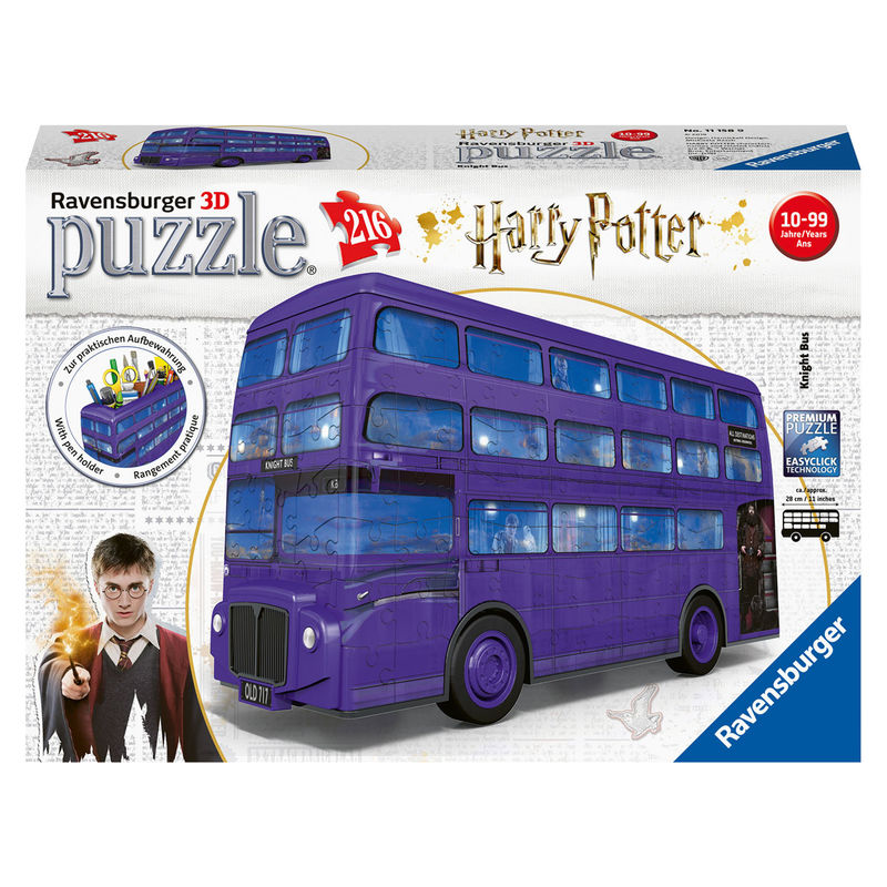Harry Potter Knight Bus 3D puzzle
