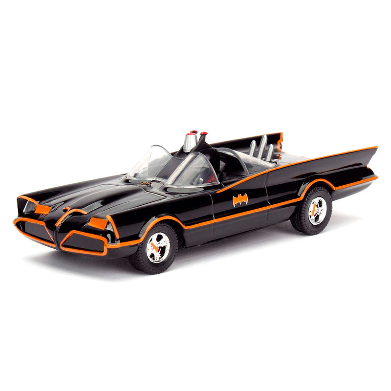 DC Comics Batman Classic TV Batmovil 1966 metal car