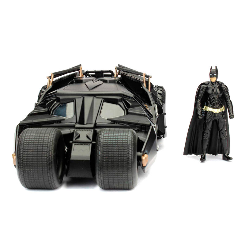 DC Comics Batman The Dark Knight Batmovil 2008 metal car & figure set