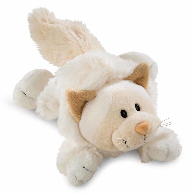Nici White Cat soft plush toy 20cm