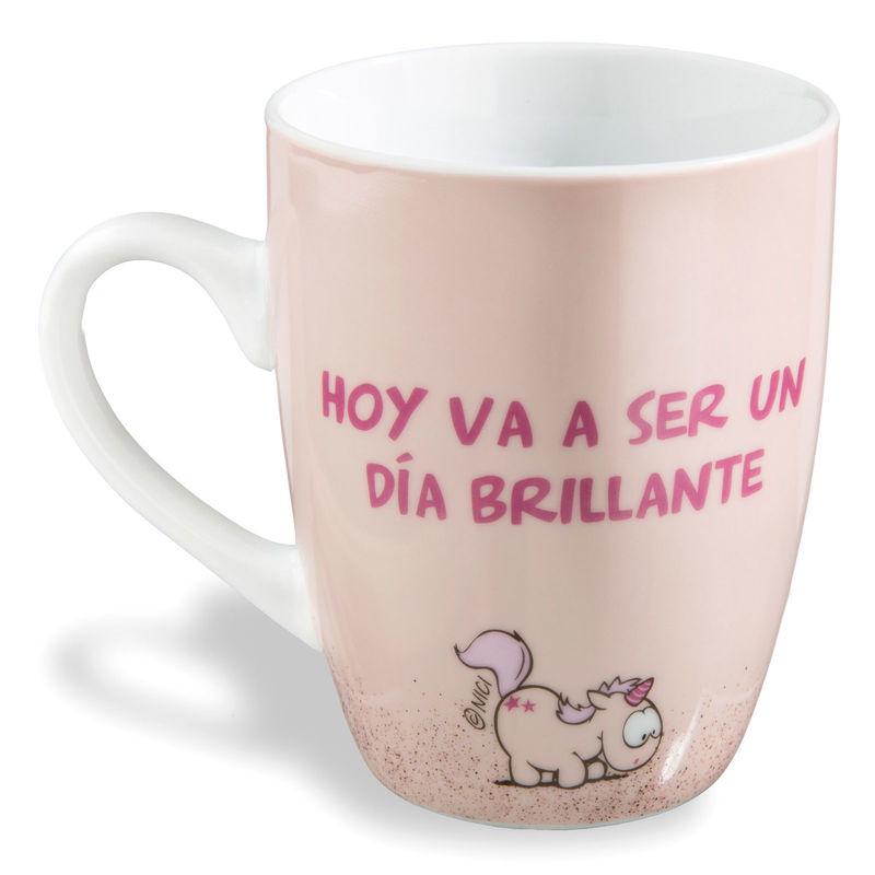 Nici Hoy Va a Ser Un dia Brillante mug
