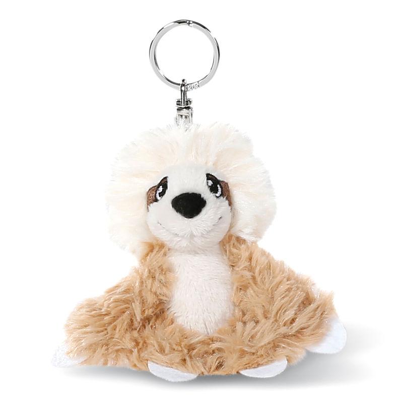 Nici Hang Gang Sloth Wave Dave plush key chain 10cm