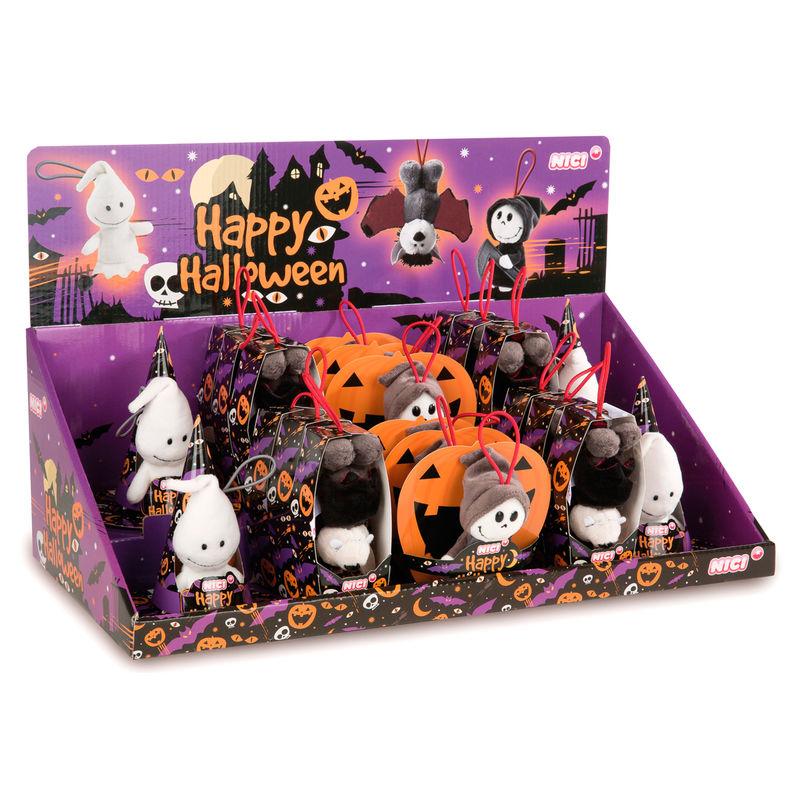 Nici Halloween assorted plush toy 10cm