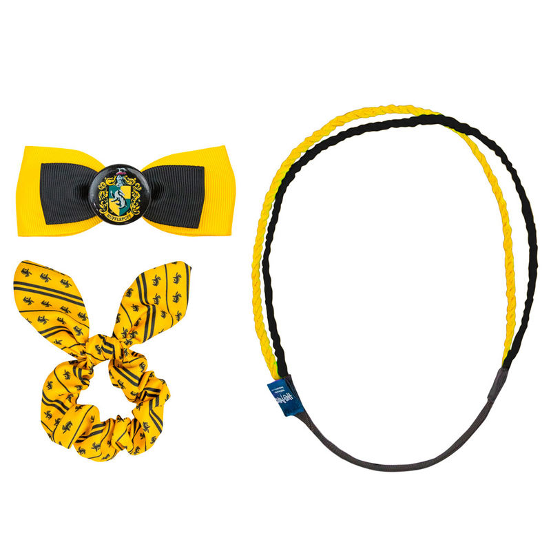 Harry Potter Hufflepuff hair accessories