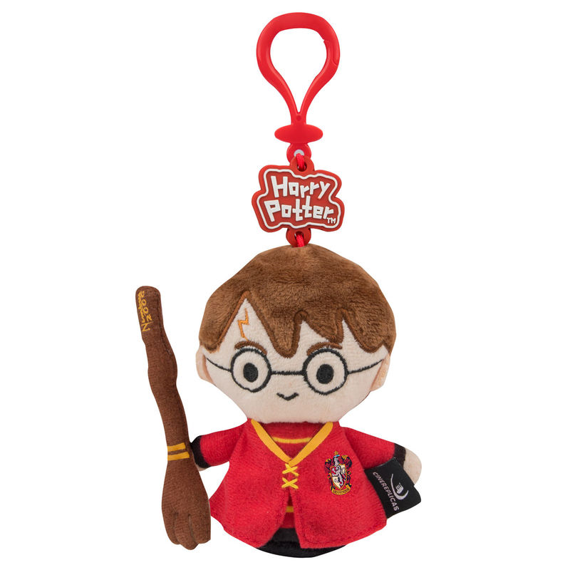 Harry Potter Quidditch plush keychain