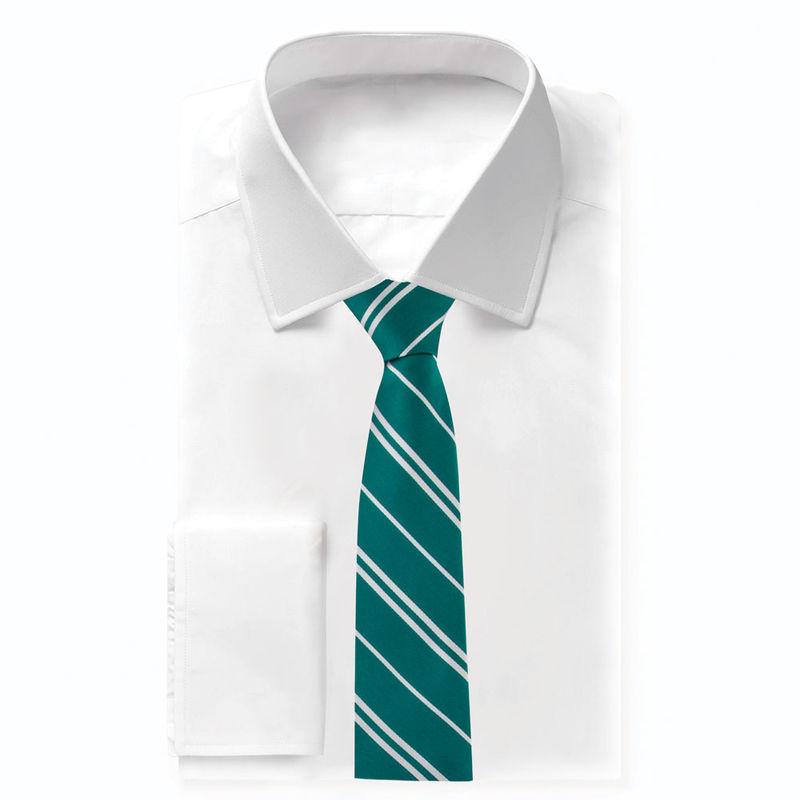 Harry Potter Slytherin woven logo kids necktie