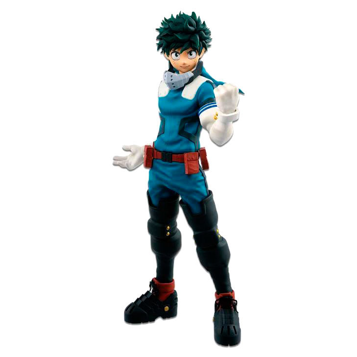 My Hero Academia Fighting Heroes feat Ones Justice Izuku Midoriya figure 24cm