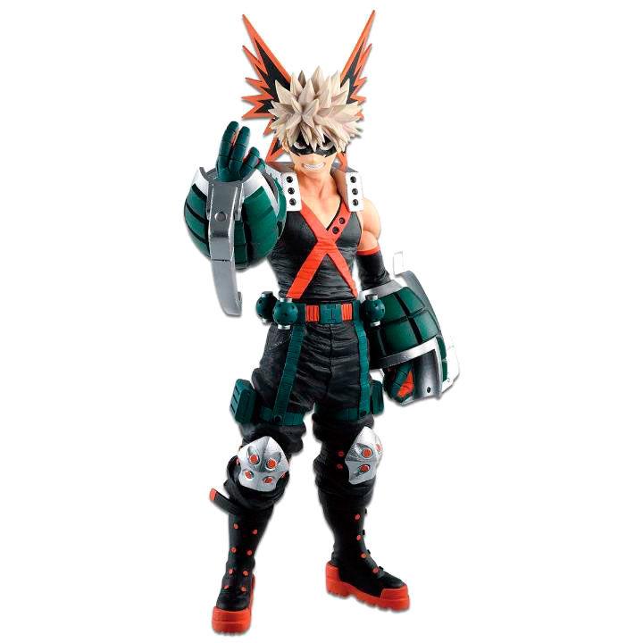 My Hero Academia Fighting Heroes feat Ones Justice Katsuki Bakugo figure 25cm