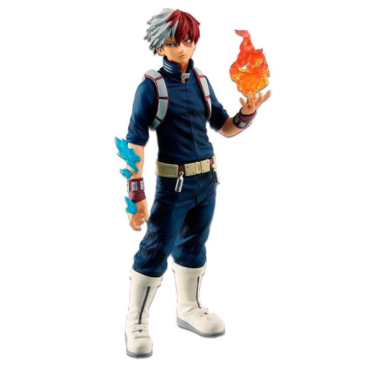 My Hero Academia Fighting Heroes feat Ones Justice Syoto Todoroki figure 25cm