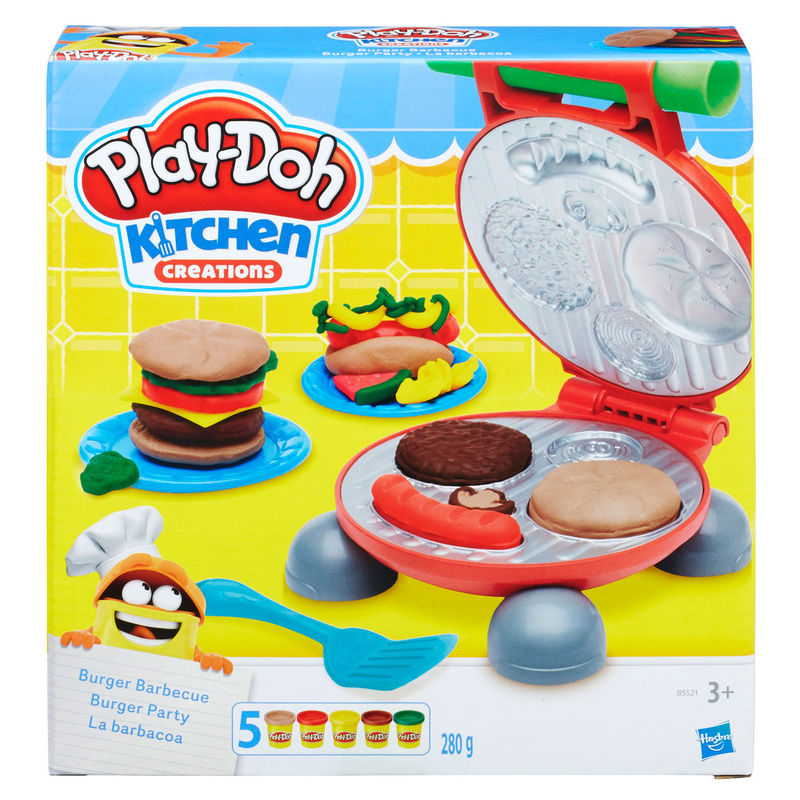 Play-Doh Kitchen Creations Burguer Barbecue