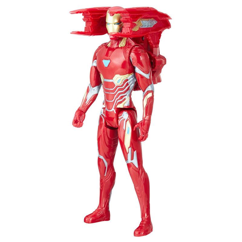 Marvel Avengers Iron Man Titan Power FX figure 30cm Spanish