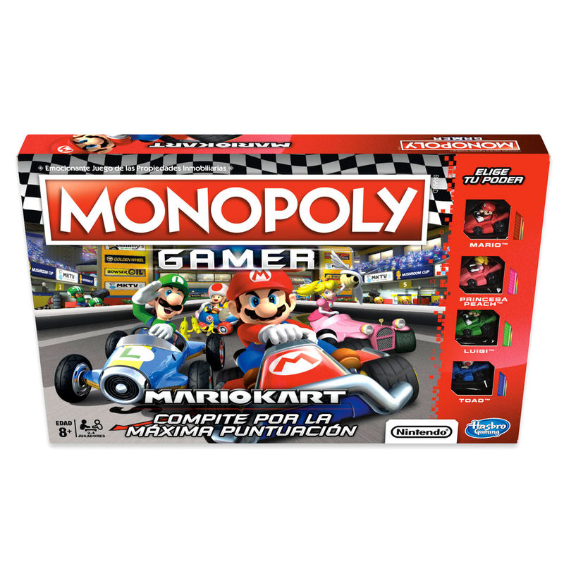 Mario Kart Monopoly Gamer Spanish game