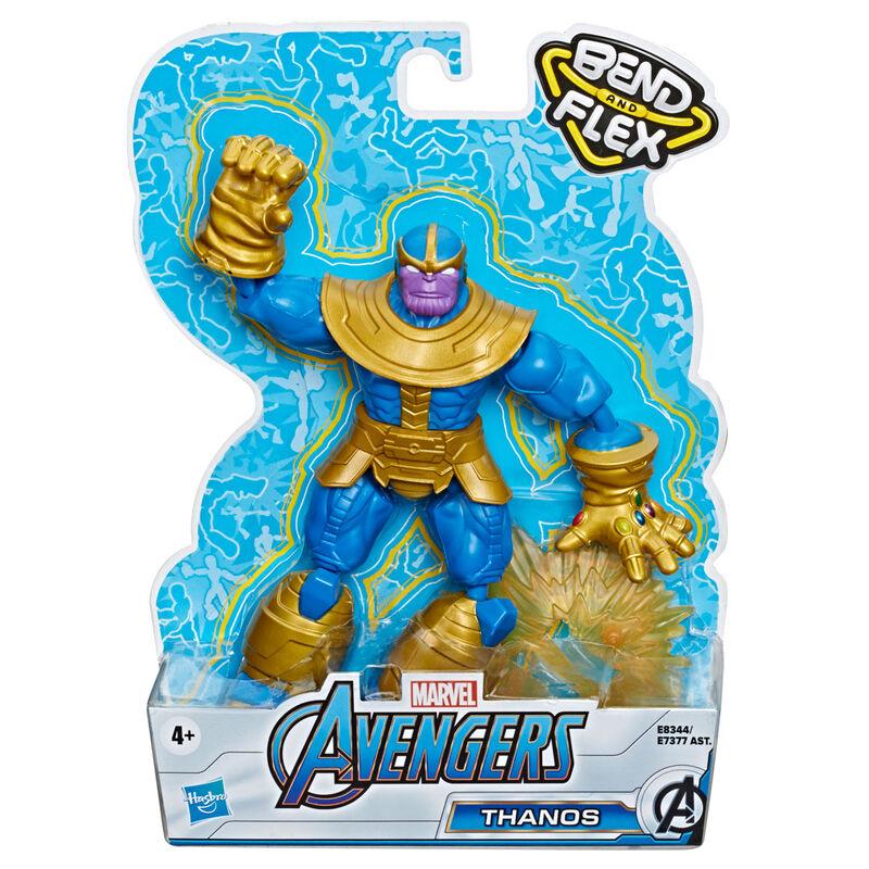 Marvel Avengers Thanos Bend and Flex figure 15cm