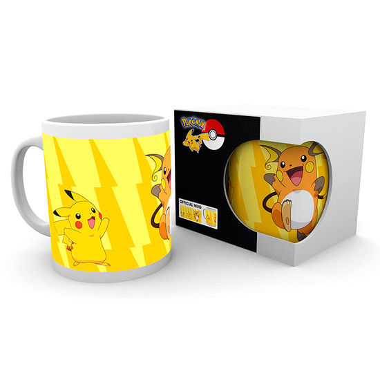 Pokemon Pikachu Evolve mug