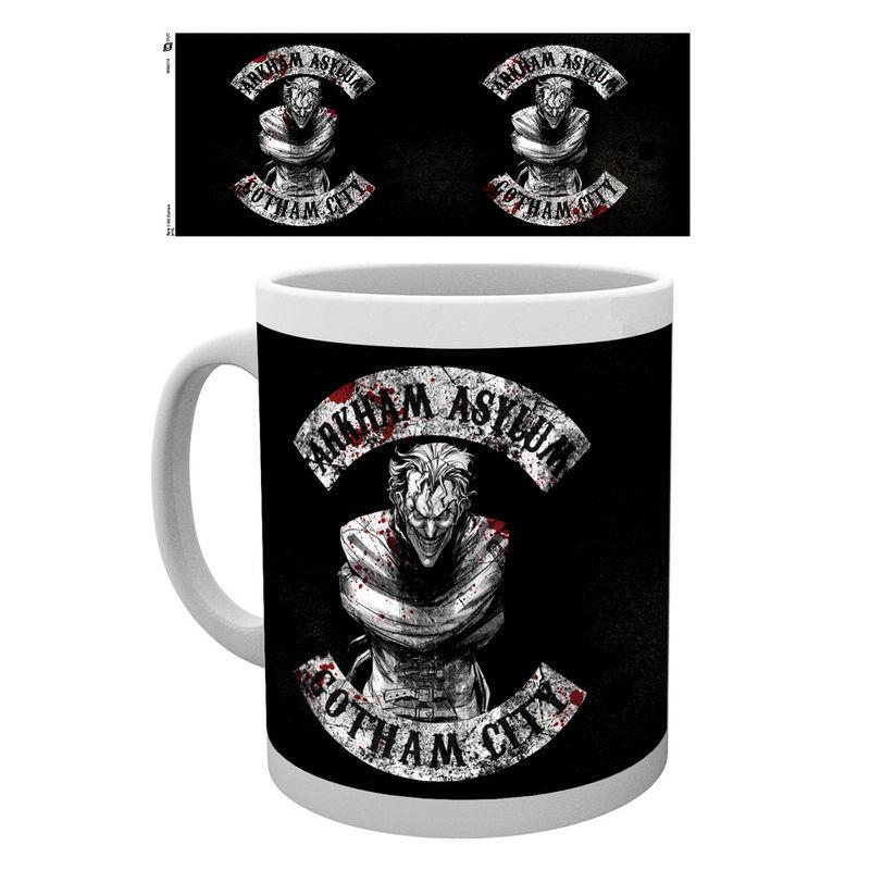 Batman comic Joker Sons of Arkham mug
