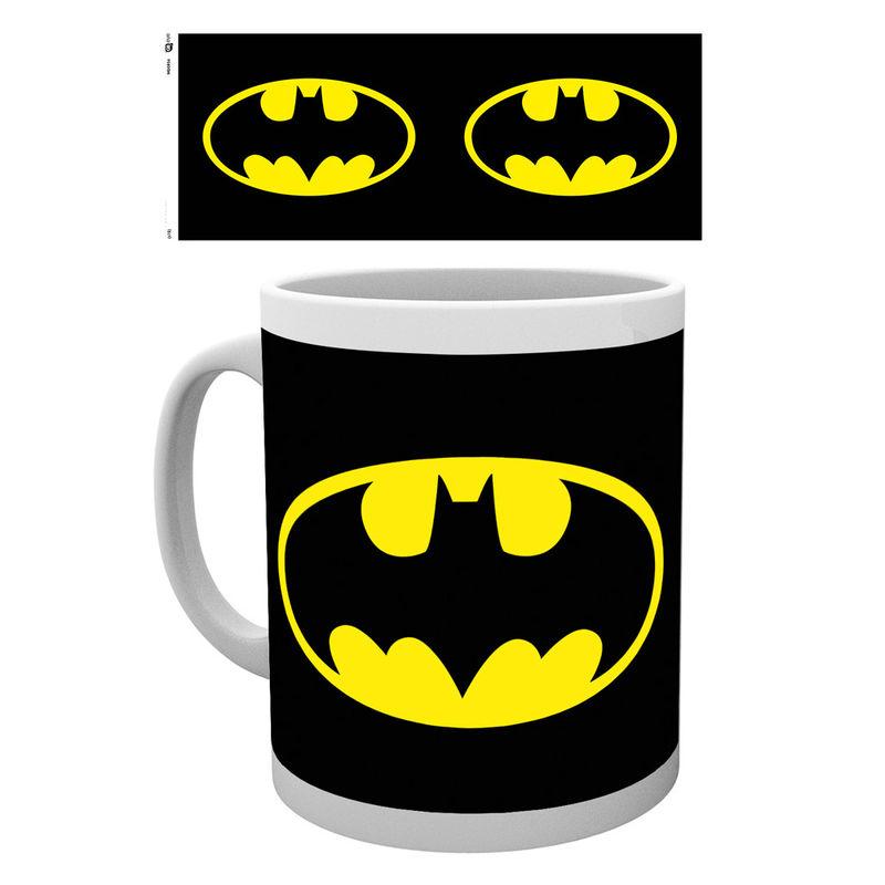 DC comics Batman logo mug