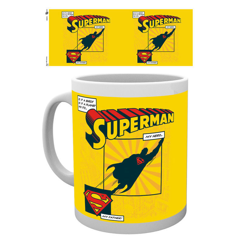 Superman Is It A Bird mug