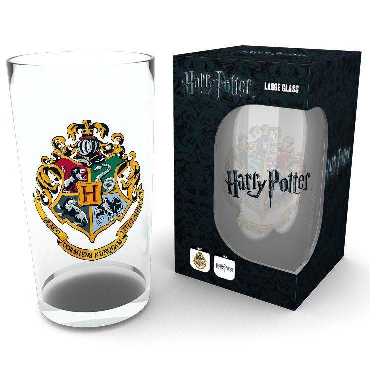 Harry Potter Crest pint glass