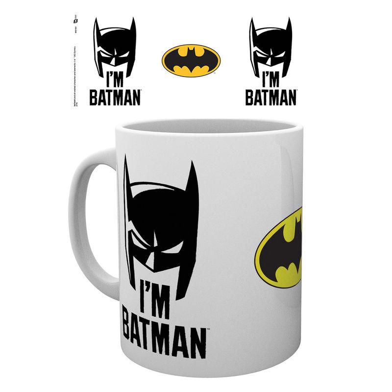 DC Comics Batman I'm Batman Cowl mug