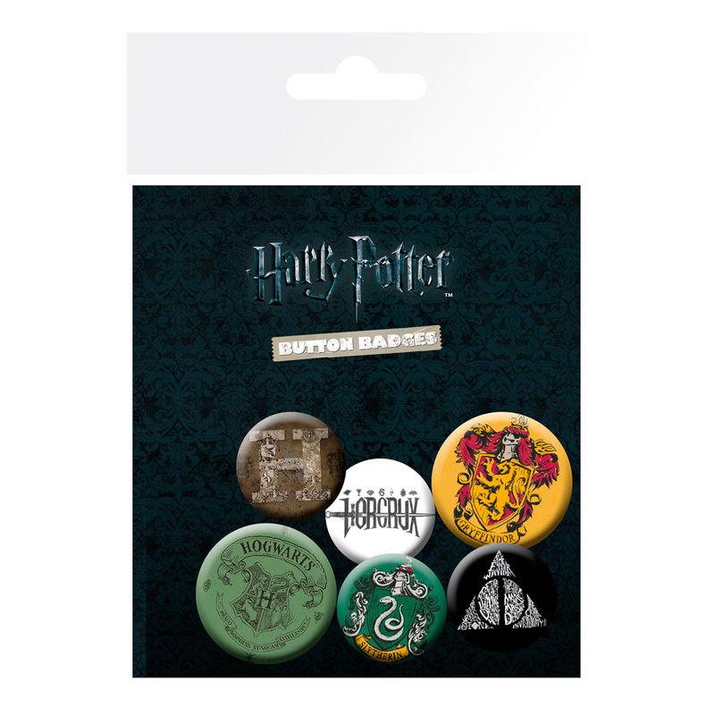 Harry Potter badge pack