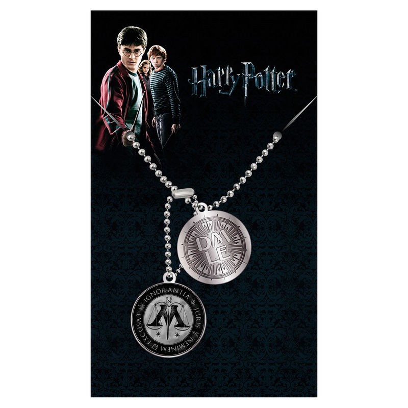 Harry Potter Ministry of Magic dog tags pendant