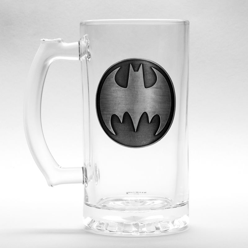 DC Comics Batman glass stein