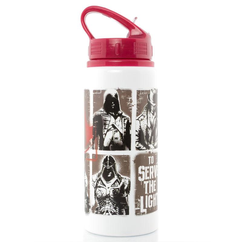 Assassins Creed Stencil aluminium drink bottle