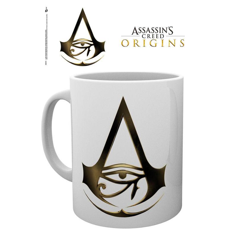 Assassins Creed Origins logo mug