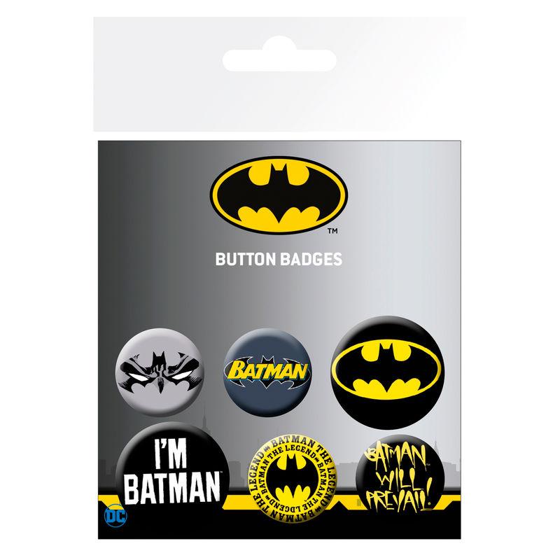 DC Comics Batman badge pack
