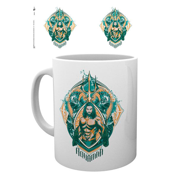 DC Comics Aquaman Crest mug