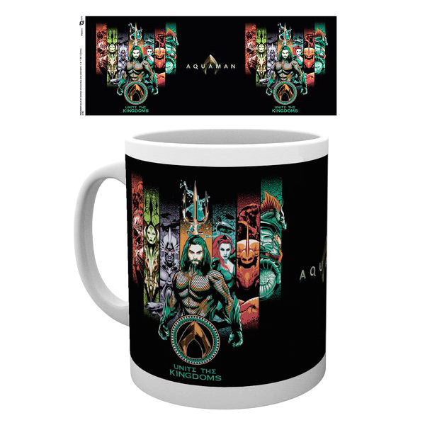 DC Comics Aquaman Unite The Kingdom mug