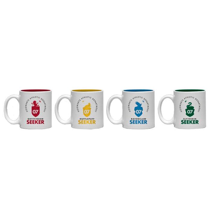 Harry Potter Quidditch espresso cup set 4