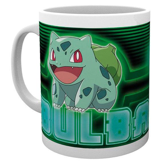 Pokemon Bulbasaur Neon mug