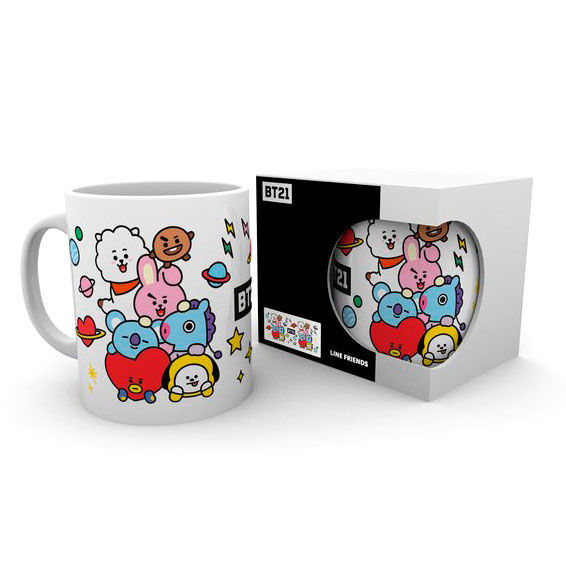 BT21 Characters Stack mug