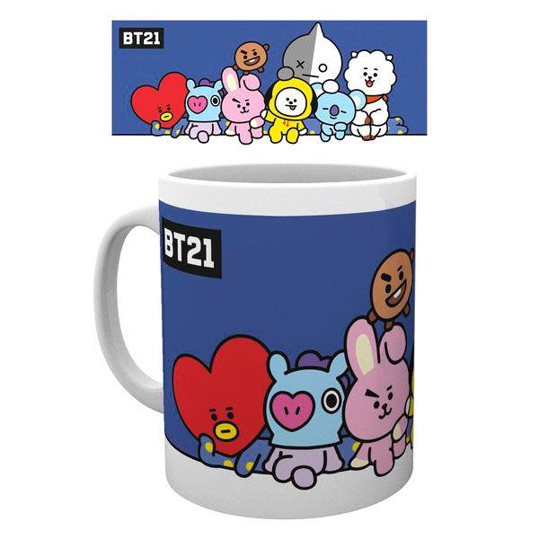 BT21 Group mug
