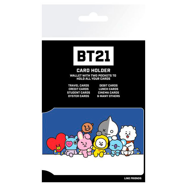 BT21 Characters Stack card holder
